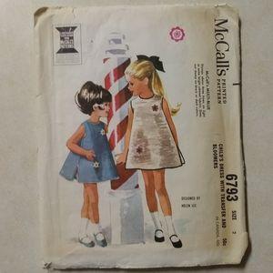 1963 McCall's Helen Lee Design